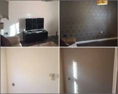 Wall papering before Wendover